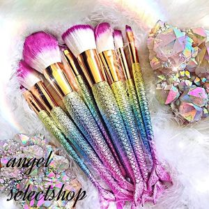 mermaid make brush