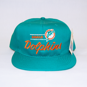 """NFL Miami Dolphins"" Snapback Cap Deadstock"