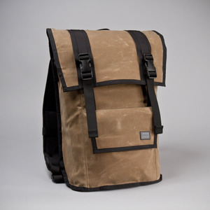 missionworkshop The Sanction Waxed Canvas Brown