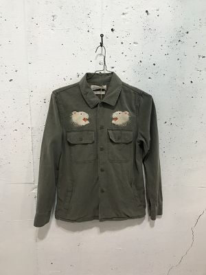 REMI RELIEF MILITARY SHIRT JACKET(HYOU)