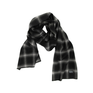 HUF SHADOWPLAID SCARF BLACK