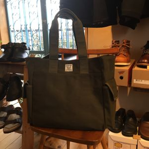 "Nigel Cabourn ""TOTE BAG(HALFTEX)"""