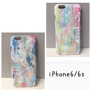 iPhone 6/6s paint case  【kannnna】