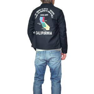 016001001(SOUVENIR JACKET)BLACK