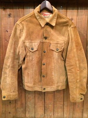 Vintage★60s 【LEVI'S】<3rd type> Suede JKT