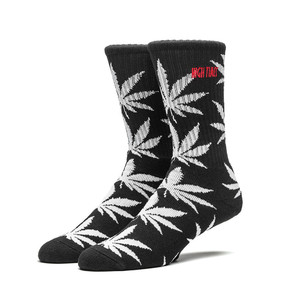 HUF X HIGH TIMES CREW SOCK BLACK