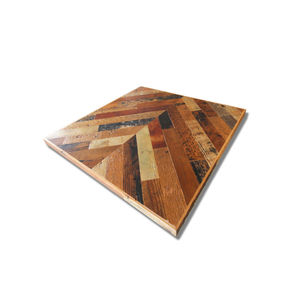 Reclaimed Table Top -Chevron Top- 600x600 −サイズオーダー可−