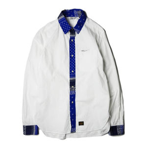 "UNRIVALED ""CLERIC SHIRT"" WHITE"