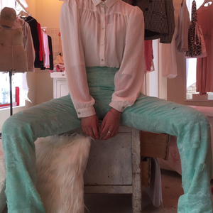 〈SALE〉【BRENDAN MORRIS】 cotton pants