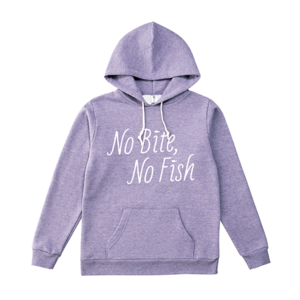 BURITSU NO BITE, NO FISH PullOver : Purple