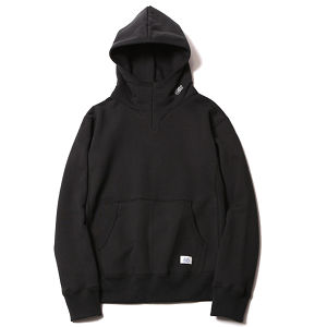RUDE GALLERY BLACK REBEL RIDING PARKA<16AW>