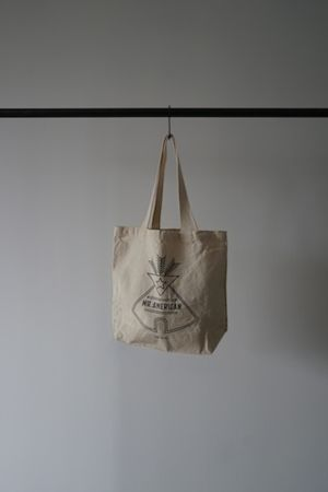 """ MR.AMERICAN "" CANVAS TOTE BAG"