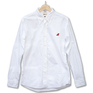 Red Fin Classic B.D-Shirts White