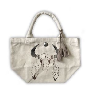 Buffalo Tote Bag Off White