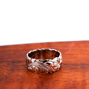 Hawaiian Jewelry 14K GOLD 6mm幅 RING