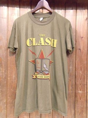 Vintage★80's 【THE CLASH】 Tee