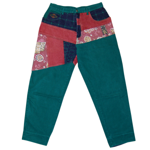 """Exhaust"" Vintage Buggie Pants Used"