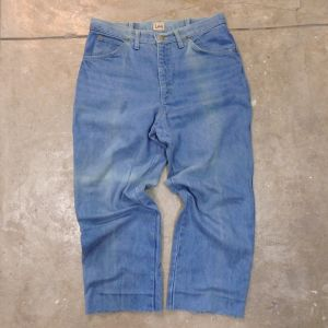 "70's Belgian ""Lee"" Denim Pants"