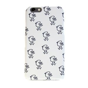 DISKAH i phone case B (White)