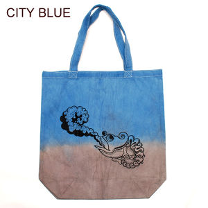 LOGO TOTE BAG [CITY BLUE]
