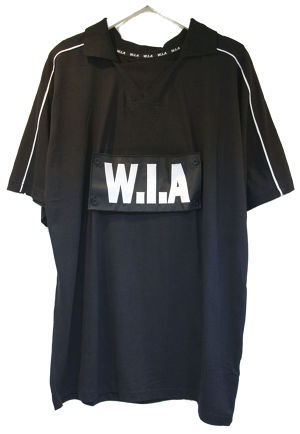 W.I.A BLACK W.I.A TRIBAL T-SHIRT トライバル Tシャツ / BLACK