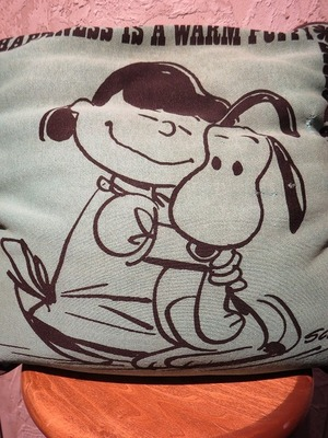 60's SNOOPY Vintage Cushion