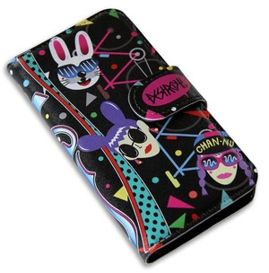 Chan Nu×DESTROY DOG iPhone ケース (ブラック)