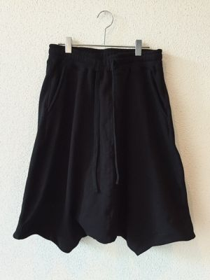 SWEAT SAROUEL PANTS (BLACK)