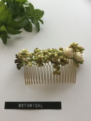 botanical hair comb