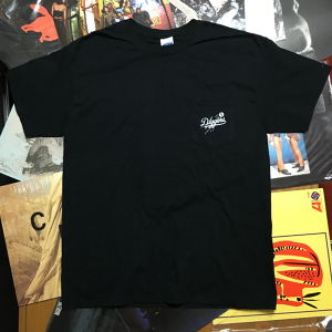 Vinyl Diggers Poket T-shirt (Black)