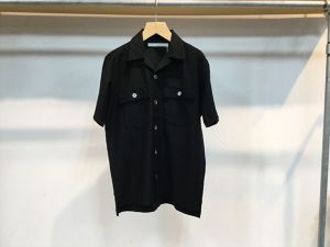 "CURLY""CLOUDY SS SHIRTS BLACK"""