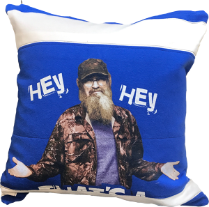 "CUSHION COVER "" Hey,Mister! """