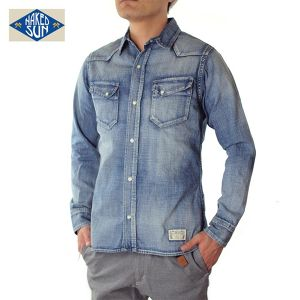 017003001(DENIM WESTERN SHIRTS)USED-1