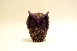 BeeMyCandle OWL/Black~hear no evil~