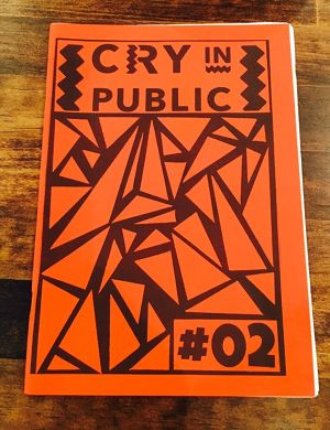 CRY IN PUBLIC #2 / ZINE