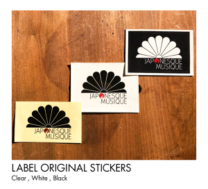 LABEL STICKER (White,Black)