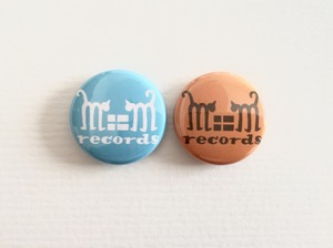 m+m records 缶バッジ