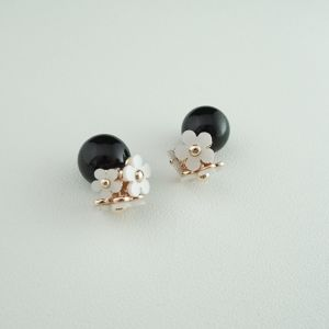 flower pearl pierce BK