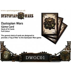 【DWGC01】Dystopian Wars Deck of 52 Game Cards(英語版)