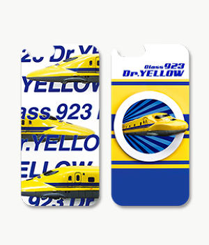 F143 iPhone6/6s対応 3Dcase 923形 Dr.YELLOW/class923 Dr.YELLOW