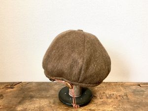 wool beret:brown