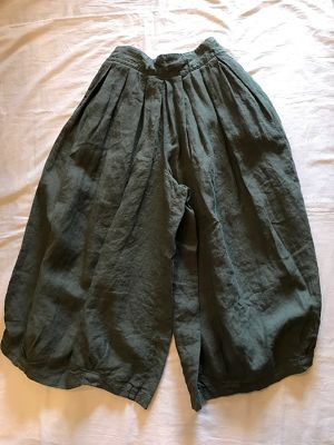LINEN CIRCUS CULOTTES(HARVESTY)