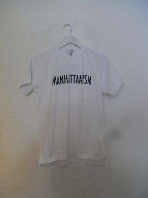 Engineered Garments(エンジニアド ガーメンツ)2016SS Printed Cross Crew Neck T-Manhattanism