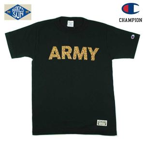 "017006010 (T1011 ""ARMY"" S/S TEE ) BLACK"
