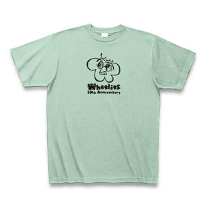 Wheelies 10th-ANNIVERSARY S/S SHIRT Color:IceGreen