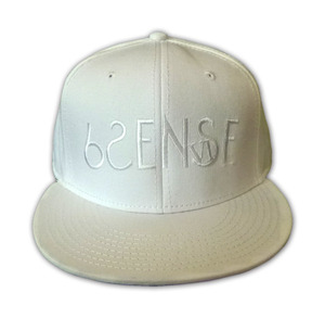 【6SENSE】 SNAP BACK(WHITE) 限定3個