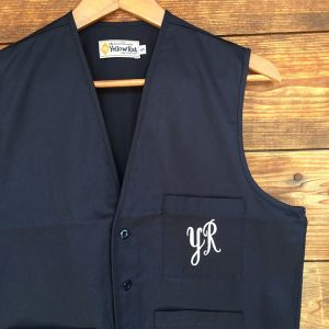 """Yellow Rat """"Utility Vest with Embroidery"""""""