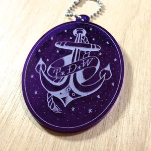 """Anchor"" Key Ring"