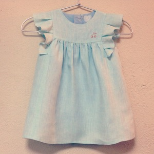 -Sold out!!- KIDS ORDER MADE DRESS -summer linen dress-