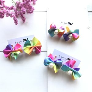 summer sale!!!!! Rainbow ribbon ピアス/イヤリング
